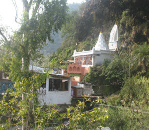 Shiv Temple in Sahastradhara